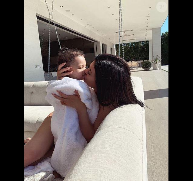 Kylie Jenner et sa fille Stormi Webster.