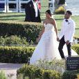 Exclusif - Mariage du rappeur Chance The Rapper et de sa compagne Kirsten Corley à Newport Beach. Le 9 mars 2019.