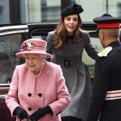Kate Middleton et la reine : ce drôle de moment complice dans leur voiture