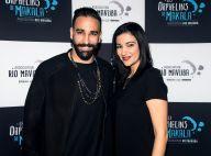 Adil Rami à l'opposé de Marseille, pour une soirée avec sa soeur Hafida