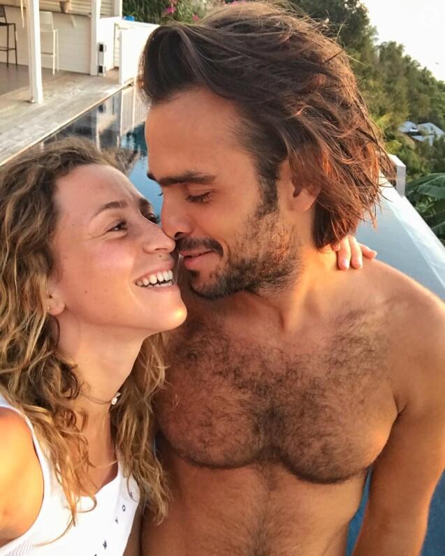 Candice Boisson et Jérémy de Koh-Lanta en Guadeloupe en mars 2019.