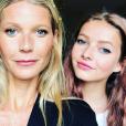 Apple Martin sur le compte Instagram de sa mère Gwyneth Paltrow.