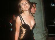 Elizabeth Hurley : Canon en robe noire décolletée, comme il y a 25 ans !