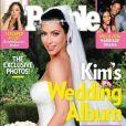 Kim Kardashian en couverture du magazine PEOPLE. Août 2011.