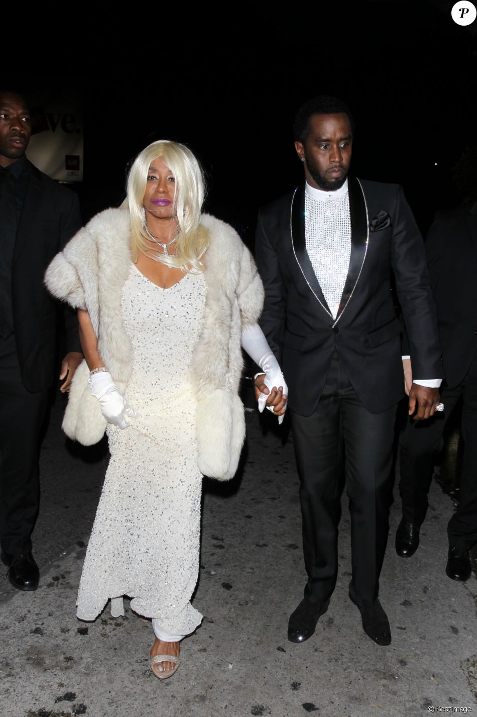 Sean Combs (P  Diddy) et sa mère Janice - Les people sont