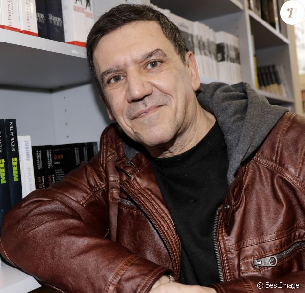 Christian Quesada - Salon du livre de Paris le 16 mars 2019. © Cédric Perrin/Bestimage