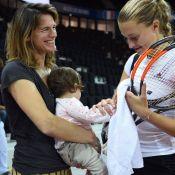 Amélie Mauresmo maman hyper sportive : elle garde la forme avec sa fille Ayla