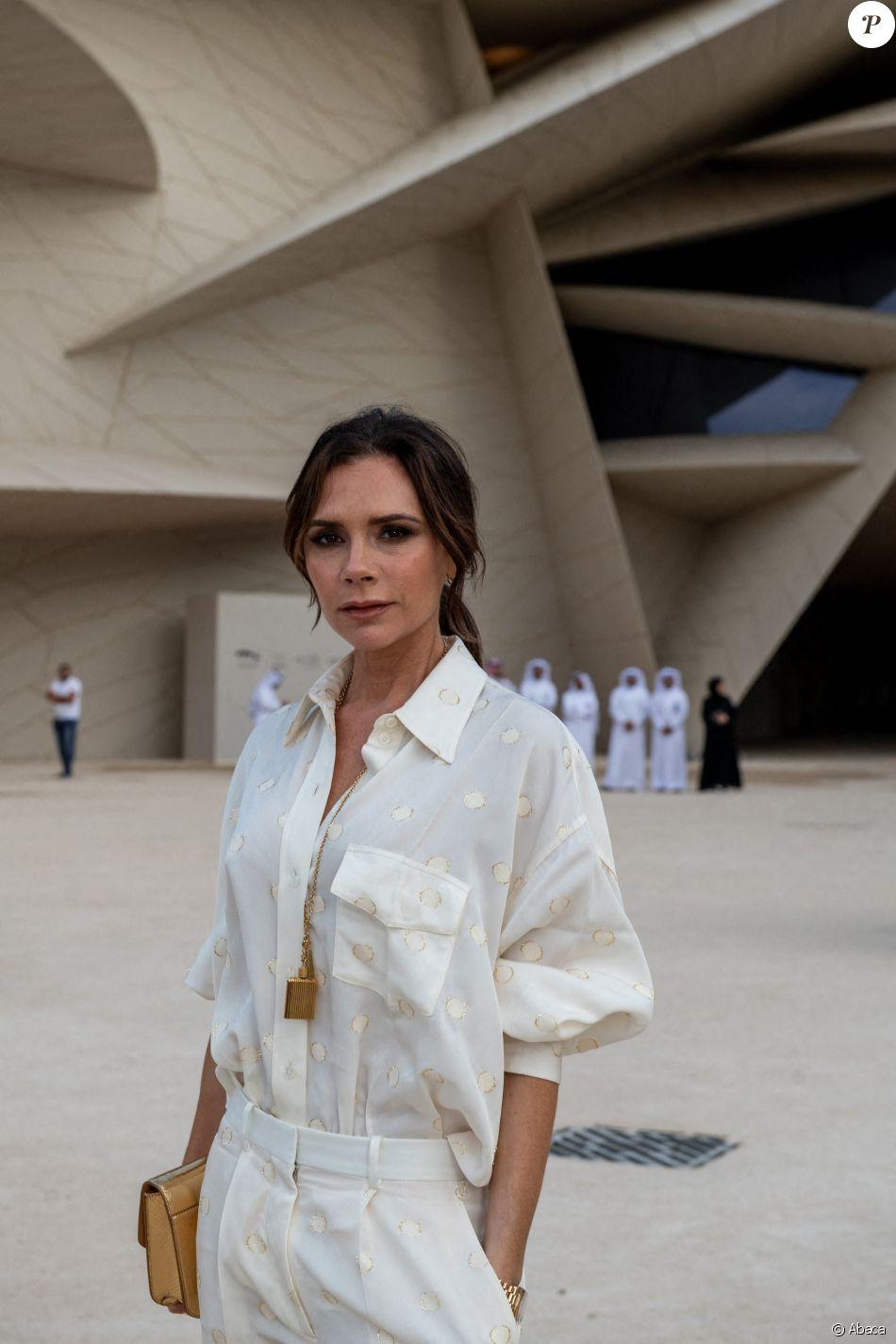 Victoria Beckham - Soirée d'inauguration du Musée National