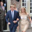 Maxima des Pays-Bas et son mari Willem-Alexander visitent l'exposition consacrée au centenaire de la naissance de feue la reine Juliana
