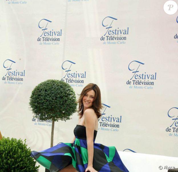Sandra Lou au 49e Festival de Télévision de Monte-Carlo