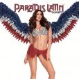 """Iris Mittenaere, meneuse de revue pour """"L'oiseau paradis"""" au Parais Latin. Un cliché dévoilé le 17 mars 2019."""
