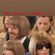 David Beckham, ses fils et sa fille Harper au défilé Victoria Beckham à Londres, le 17 février 2019.