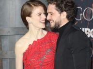 """Kit Harington et Rose Leslie complices à l'avant-première de """"Game of Thrones"""""""