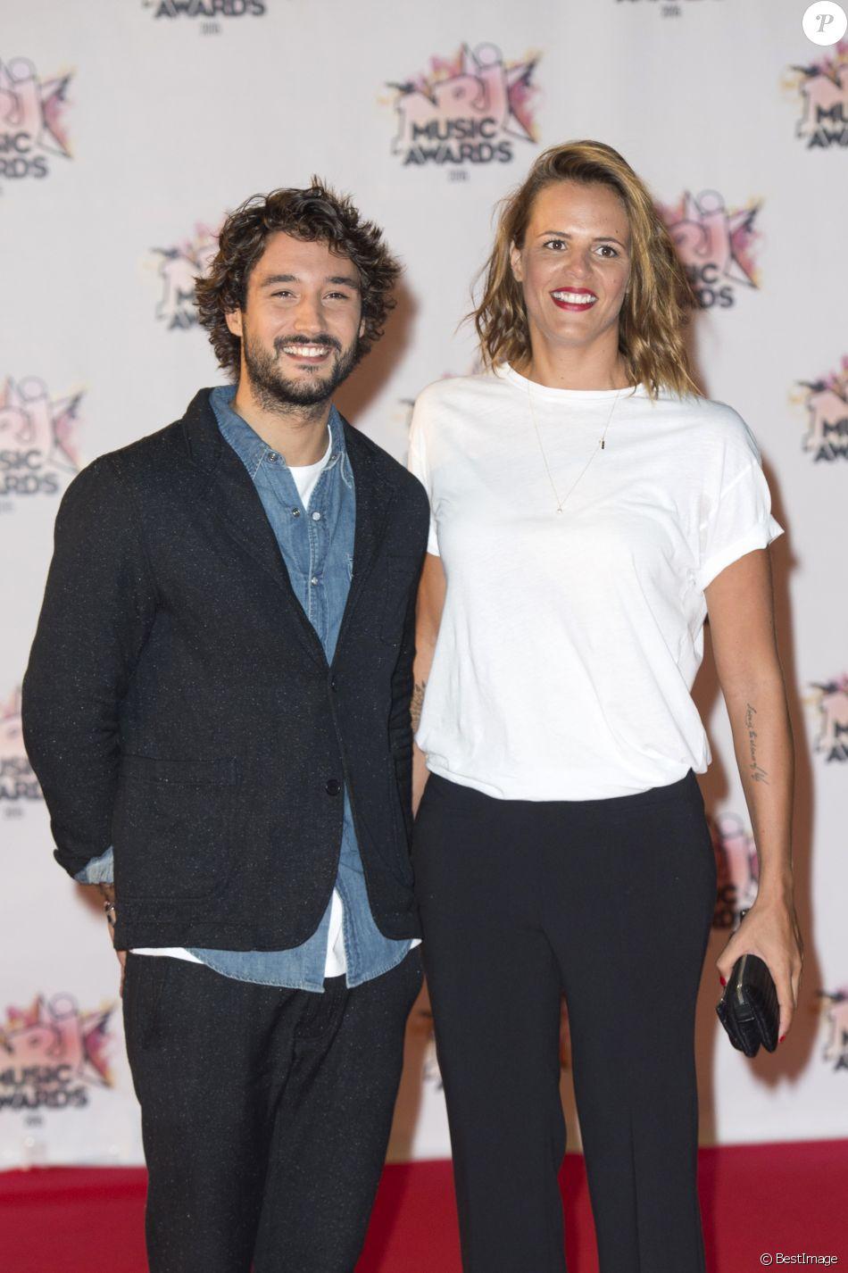 Mariage - Laure Manaudou et Jérémy Frérot se sont mariés - Laure Manaudou et son compagnon Jérémy Frérot - Arrivées à la 17ème cérémonie des NRJ Music Awards 2015 au Palais des Festivals à Cannes, le 7 novembre 2015.  People attending the NRJ Music Awards at the Palais des Festival in Cannes, on November 7th 2015.07/11/2015 - Cannes