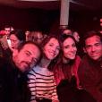"""Guillaume Delorme avec l'équipe de """"Plus belle la vie"""", à Paris - Instagram, 18 mars 2019"""