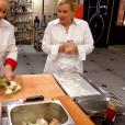 """Alexia et Hélène Darroze - """"Top Chef 2019"""" sur M6. Le 10 avril 2019."""