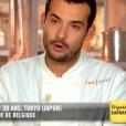 """Samuel - """"Top Chef 2019"""" sur M6. Le 10 avril 2019."""