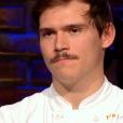 """Damien éliminé - """"Top Chef 2019"""" sur M6. Le 10 avril 2019."""