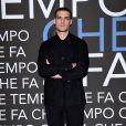 """- Enregistrement de l'émission """"Che Temp Che Fa"""" à Milan en Italie le 7 avril 2019"""