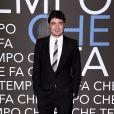 """Riccardo Scamarcio - Enregistrement de l'émission """"Che Temp Che Fa"""" à Milan en Italie le 7 avril 2019"""