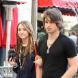 Miley Cyrus et son ex boyfriend, Justin Gaston