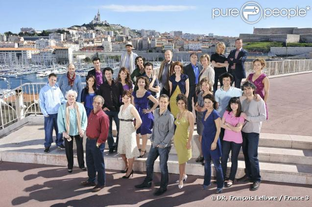 La grande famille de Plus Belle La Vie !