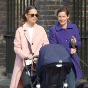 Pippa Middleton : Balade de printemps en famille avec un manteau français !