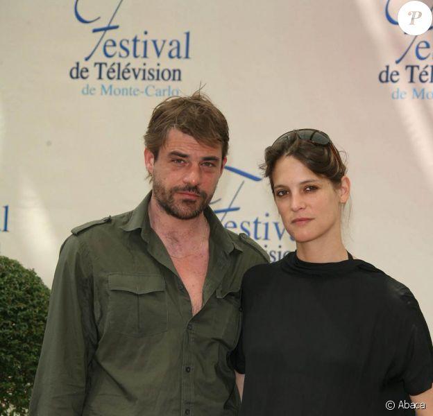 Thierry Neuvic et Hélène Fillières, lors du 49e Festival International de Télévision de Monte-Carlo, le 11 juin 2009, à Monaco !