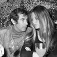 Brigitte Bardot et Roger Vadim (photo d'archive non datée)