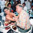Brigitte Bardot et Roger Vadim à Saint-Tropez en 1995