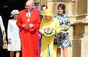 Eugenie d'York en beauté avec Elizabeth II pour distribuer de la petite monnaie
