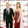 Michael Douglas et sa femme Catherine Zeta-Jones à la soirée AFI Life Achievement hier soir, à Culver City (Californie, hier soir)