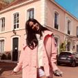 Shy'm sur Instagram, le 18 avril 2019.