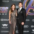 """Chris Pratt et sa fiancée Katherine Schwarzenegger - Avant-première du film """"Avengers: Endgame"""" à Los Angeles, le 22 avril 2019."""