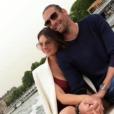 Camille Lacourt et sa nouvelle petite amie, le 23 avril 2019.