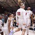 L'équipe féminine de basket-ball de Harvard. 2019.