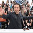 Alejandro Gonzalez Inarritu - Photocall du film Biutiful à Cannes en 2010