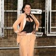 Sadie Frost arrivant au défilé de lancement des collections Resort et hommes de Stella McCartney aux Abbey Road Studios à Londres, le 10 novembre 2016. People arriving at Resort and menswear collections launch party held at Abbey Road Studios, London, UK on November 10, 2016.10/11/2016 - London