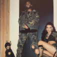 Bella Hadid et The Weeknd à New York. Le 15 février 2019.