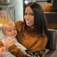 Manon Marsault avec son fils Tiago - Instagram, 25 février 2019