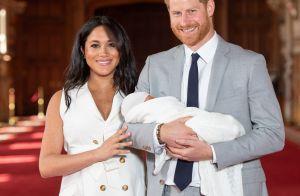 Meghan Markle et Harry : Premières photos des jeunes parents avec leur fils