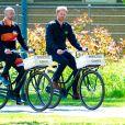 Le prince Harry, duc de Sussex fait du vélo dans le cadre de son déplacement à La Haye pour la prochaine compétition Invictus Games, La Haye, le 9 mai 2019