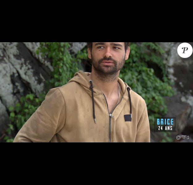 """Brice dans """"Koh-Lanta, la guerre des chefs"""" vendredi 26 avril 2019 sur TF1."""