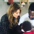 Ariane Brodier : son fils fou de sa petite soeur - Instagram, 10 mai 2019
