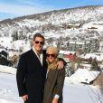 Trevor Engelson et sa nouvelle épouse Tracey Kurland sur une photo publiée en décembre 2017 sur Facebook.