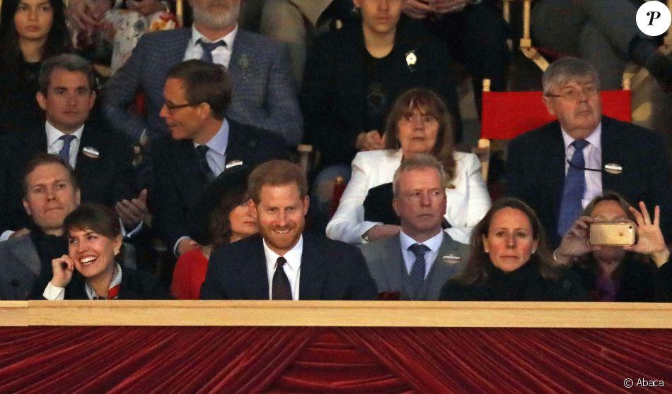 Le prince Harry, duc de Sussex assiste au Royal Windsor Horse Show à Windsor, Royaume-Uni, le 11 mai 2019. Le concours fête le 200e anniversaire de la naissance de la reine Victoria.