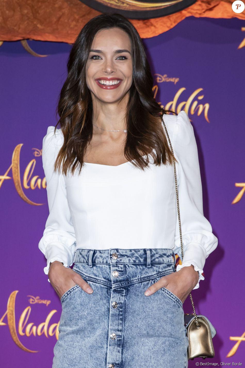"""Marine Lorphelin (Miss France 2013) - Avant-première Parisienne du film """"Aladdin"""" au Grand Rex à Paris le 8 mai 2019. © Olivier Borde/Bestimage"""