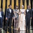 Kelly Reichardt, Javier Bardem, Charlotte Gainsbourg, Elle Fanning, Alejandro Gonzalez Inarritu, Pawel Pawlikowski, Maimouna N'Diaye - Cérémonie d'ouverture du 72ème Festival International du Film de Cannes. Le 14 mai 2019 © Borde-Jacovides-Moreau / Bestimage  Opening ceremony of the 72th Cannes International Film festival. On may 14th 201914/05/2019 -