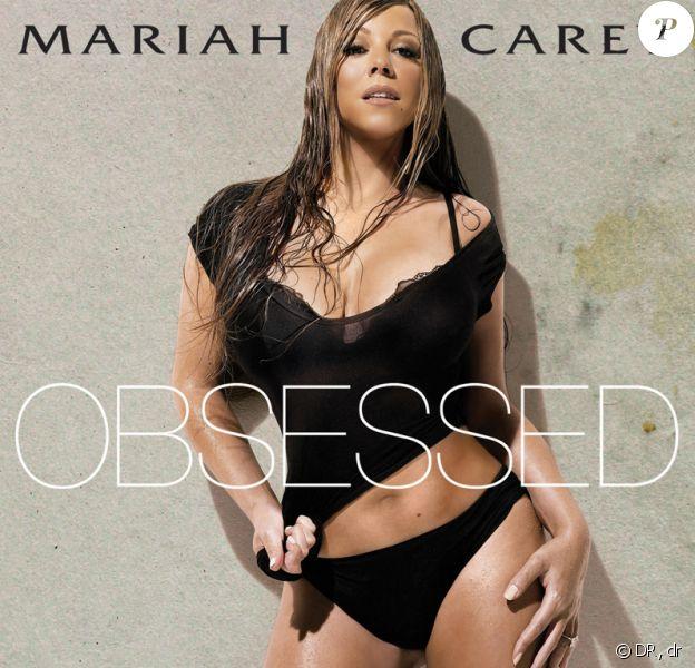 La pochette d'Obsessed, le nouveau single de Mariah Carey