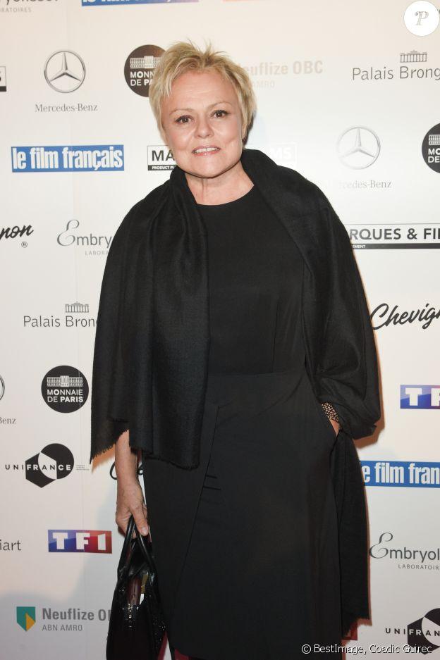 Muriel Robin - 26ème édition des Trophées du Film Français 2018 au Palais Brongniart à Paris le 5 février 2019. © Coadic Guirec/Bestimage